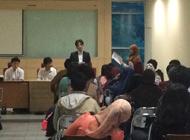 インドネシア大学<br>オリエンテーション風景